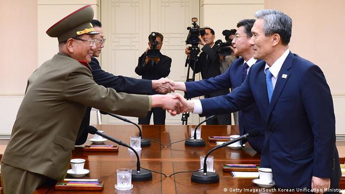 Переговоры в Пханмунджоме в 2015 году