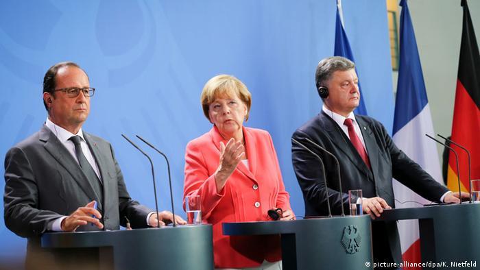 Під час спільної прес-конференції в Берліні