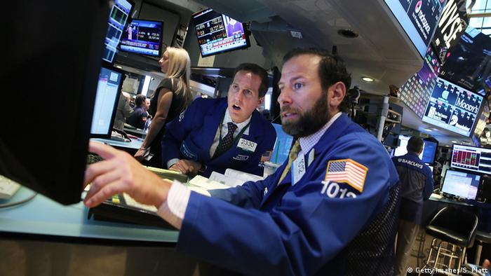 Торги на Нью-Йоркской фондовой бирже
