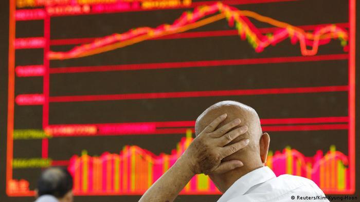 China Börsen rutschen weiter ab