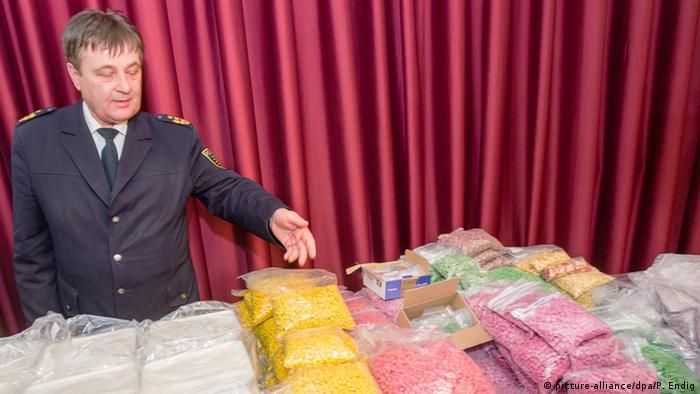 Deutschland großer Drogenfund in Leipzig