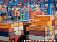 Торгівля ФРН зі Східною Європою пожвавилась (на фото контейнери з товарами в порту Гамбурга)
