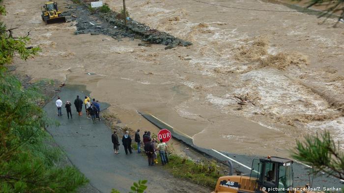 Türkei Überflutung Flut Umwelt Erdrutsch Dauerregen Helfer