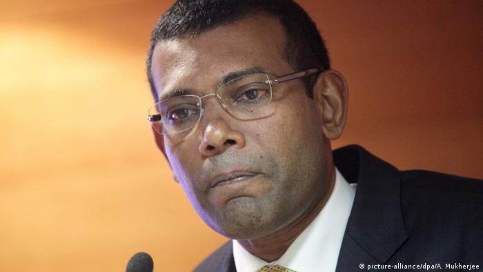 Former president Mohamed Nasheed in 2012