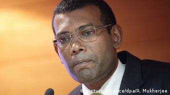 Mohamed Nasheed, former president of the Maldives (picture-alliance/dpa/A. Mukherjee)