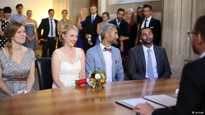 Iran Deutschland Hochzeit
