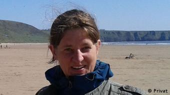 H Καρολίνε Σαχτ, ειδική σε θέματα αλιείας από την οργάνωση WWF