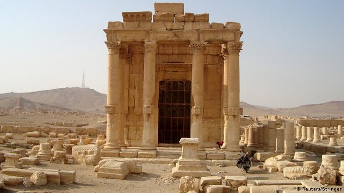 Syrien Tempel Baal Shamin in Palmyra