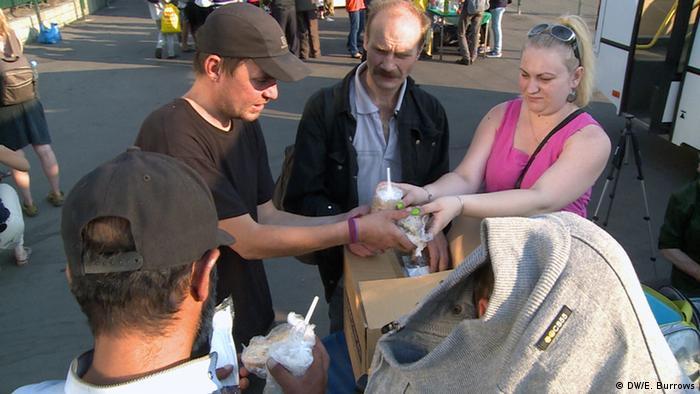 Sve više ljudi dolazi po besplatnu hranu - ne samo beskućnika