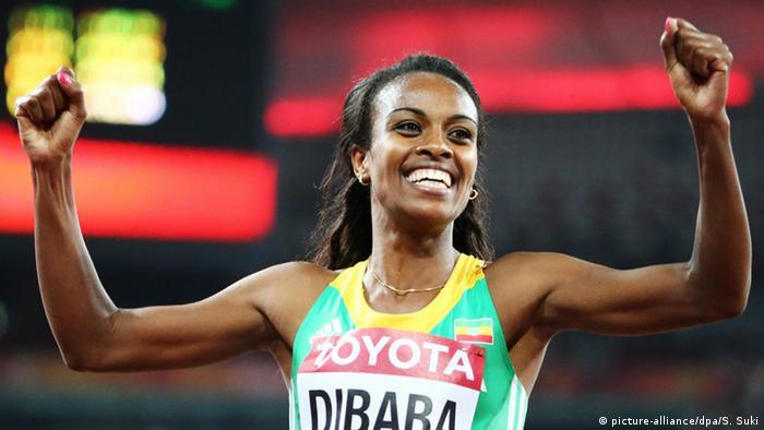 China Beijing 2015 IAAF Weltmeisterschaft Genzebe Dibaba