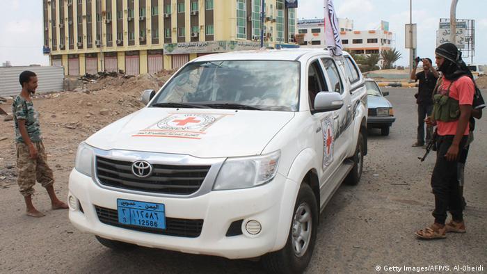 Symbolbild Rotes Kreuz in Aden, Jemen