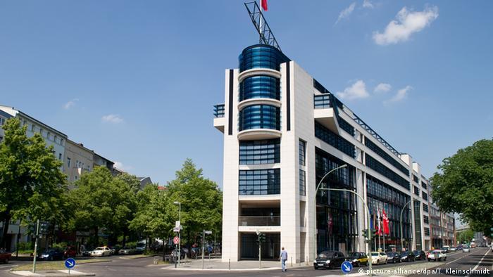 Deutschland Willy-Brandt-Haus in Berlin