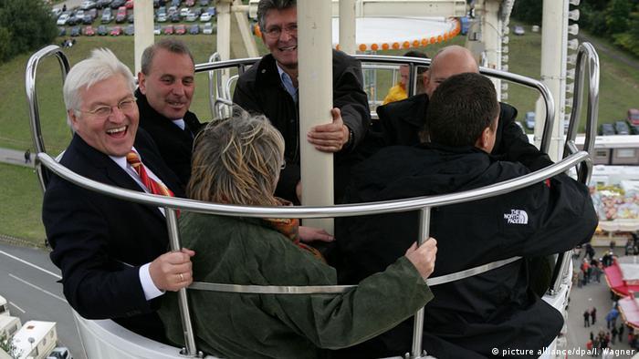 Франк-Вальтер Штайнмайер и другие гости ярмарки в Ольденбурге