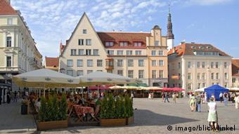 Площад в старата част на естонската столица Талин