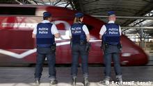 Belgien Thalys-Anschlag Polizei