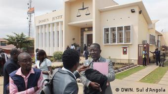 Angola Gericht in Cabinda