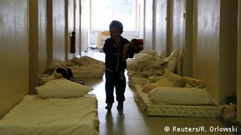 Deutschland Erstaufnahmelager für Flüchtlinge in Friedland