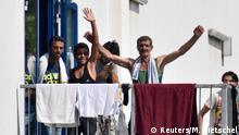 Deutschland Flüchtlinge in Heidenau