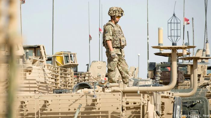 Afghanistan Nato Soldat in Helmand (Getty Images/L. Neal)