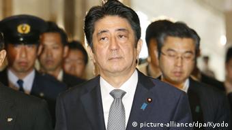 Shinzo Abe Japan Premierminister neutral