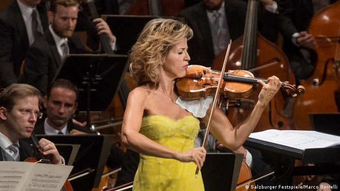 Bildergalerie Salzburger Festspiele 2015 Wiener Philharmoniker Anne-Sophie Mutter