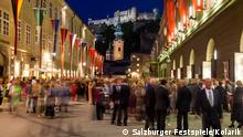 Bildergalerie Salzburger Festspiele 2015 Hofstallgasse