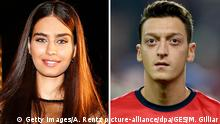 Amine Gulse und Mesut Özil (Bildcombo)