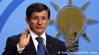 Türkei - Premierminister Ahmet Davutoglu