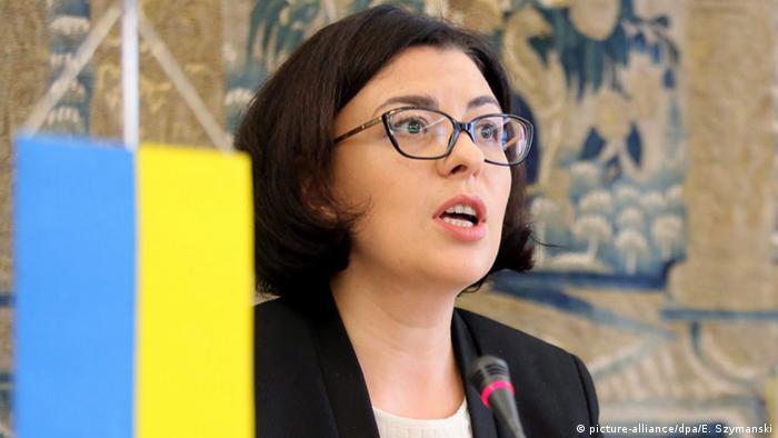 Заступниця Голови Верховної Ради України Оксана Сироїд