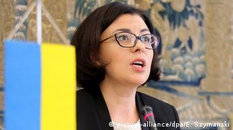 Заступниця голови українського парламенту Оксана Сироїд належить до критиків президентського проекту Конституції
