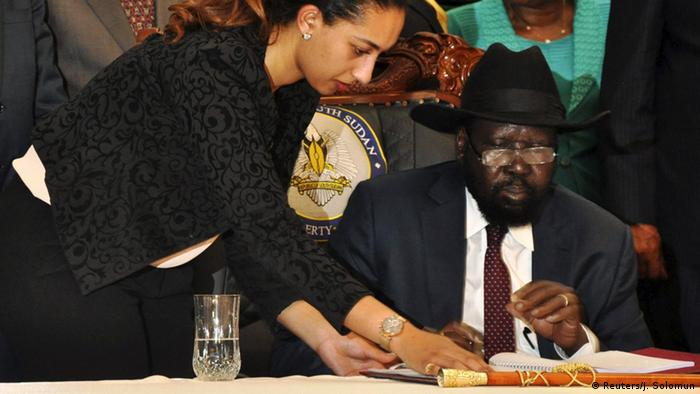 South Sudan: President Kiir signs peace deal