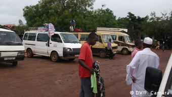 Guinea Bissau Bus Station