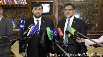 Weißrussland Belarus Minsk Friedensverhandlungen Ukraine