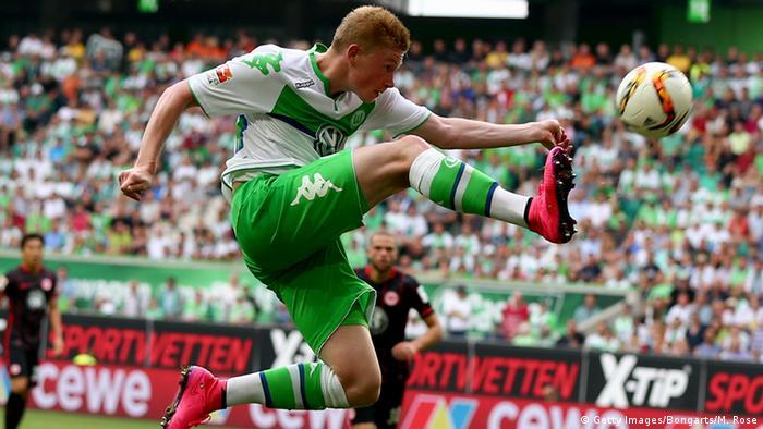 Deutschland Fußballspieler Kevin de Bruyne