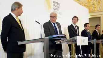 Österreich Pressekonferenz Westbalkan-Konferenz in Wien