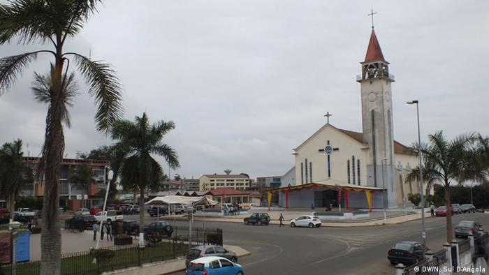 Angola Kathedrale von Cabinda