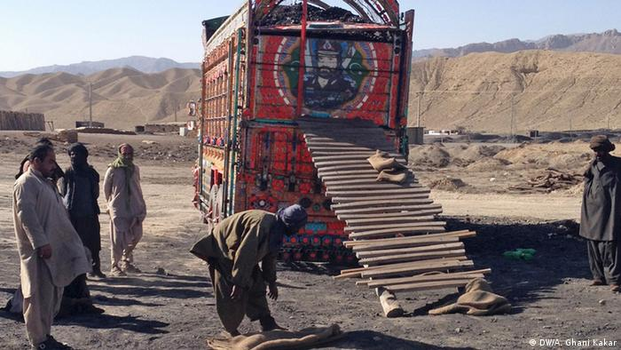Kohlebergbau in Pakistan