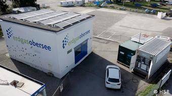 Power-to-Gas-Pilotanlage Gasfahrzeug Rapperswil Schweiz Energie Umwelt