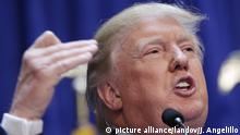 Image #: 37631827 Donald Trump delivers a speech where he announces that he will be running for President of the United States at Trump Tower on 5th Avenue in New York City on June 16, 2015. Trump is the 12th Republican running for the White House. Photo by John Angelillo/UPI /LANDOV