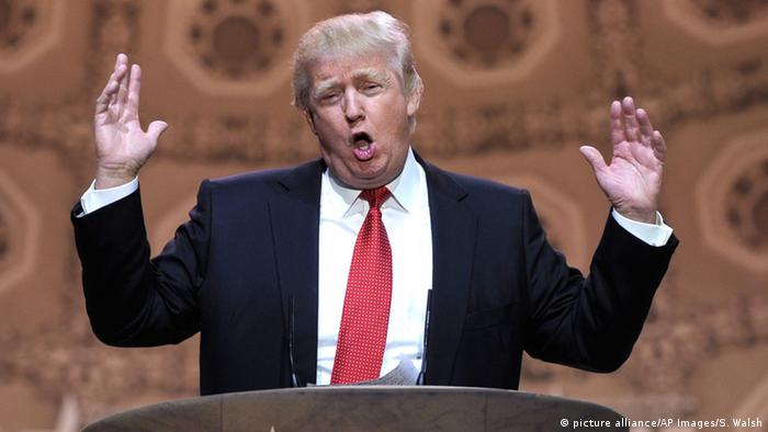 USA Donald Trump in National Harbor (picture alliance/AP Images/S. Walsh)