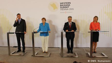 Balkankonferenz in Wien