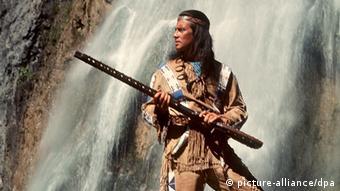 Pierre Brice as Winnetou, Copyright: picture-alliance/dpa