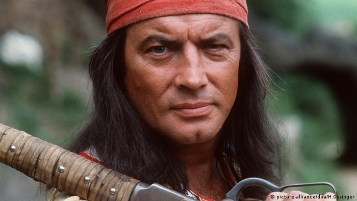 Pierre Brice as Winnetou (Photo: picture-alliance/dpa/H.Ossinger)