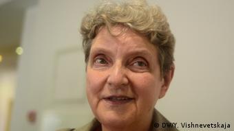 Menschenrechtlerin Swetlana Gannuschkina (Foto: DW/Y. Vishnevetskaja)