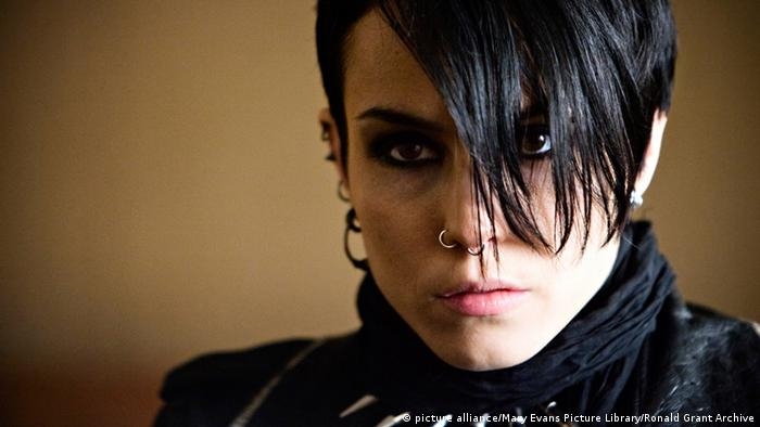 Noomi Rapace als Lisbeth Salander in Verblendung (Foto: picture alliance/Mary Evans Picture Library/Ronald Grant Archive)
