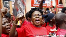 Nigeria Demonstration Bring Back Our Girls in Chibok