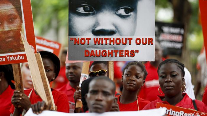 Bring Back Our Girls march in Chibok