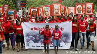 Nigeria Demonstration Bring Back Our Girls in Chibok (Reuters/A. Akinleye)