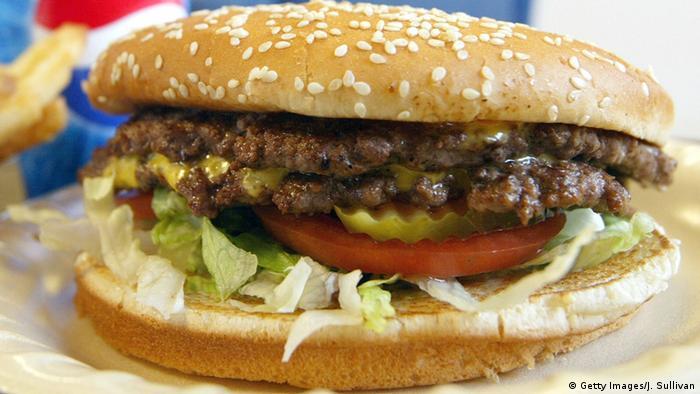 USA Burger mit einer extra Scheibe Fleisch