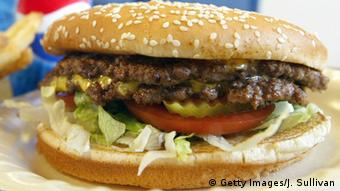 A double cheeseburger Photo by Justin Sullivan/Getty Images